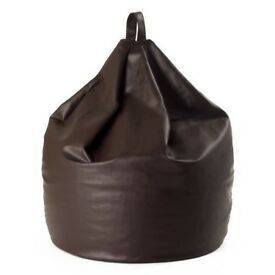 ** Leather Beanbag**