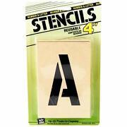 4 Letter Stencils