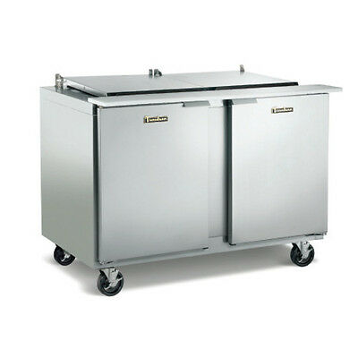 Traulsen Ust4808lr-0300-sb 48 Refrigerated Counter With Stainless Steel Back