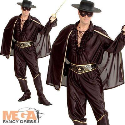 Bandit Mens Fancy Dress Mexican Spanish Hero Film Movie Halloween Adults Costume