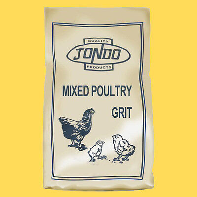 Mixed Poultry Grit with Oyster Shell - 25kg - Chicken - Duck - Hen