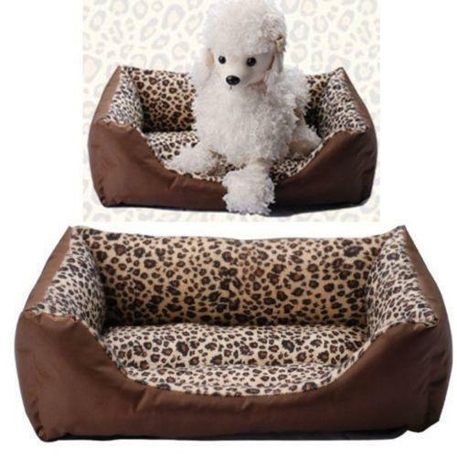 Leopard Print Dog Bed Ebay