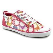 pink coach tennis shoes ebay