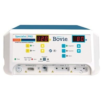 Bovie Specialist Pro 120 W Electrosurgical Generator A1250s New - 4 Yr Warranty