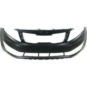 Bumper Front Primed Ex/Lx Model (Usa Built Without Tow) Kia Optima 2012-2013