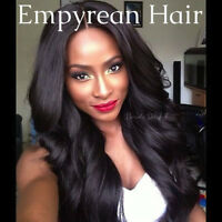 "120g Human Hair Deep Wave 2Bundles 12""-30"" Natural Color INDIA"