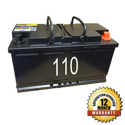 Cosmetic 110 Car Battery - 80ah 720cca - 12 Month warranty
