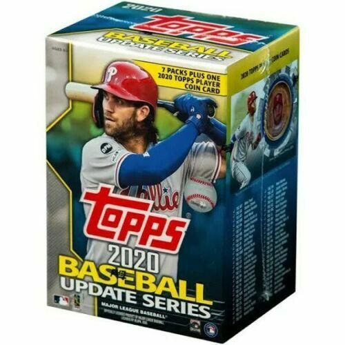2020 Topps MLB Baseball Update Series Retail Blaster Box - Fac Sealed - In Stock