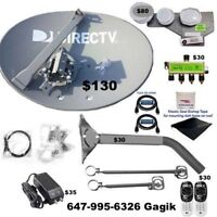 Satellite installations Directv Bell Shaw Dish Net HD Antenna