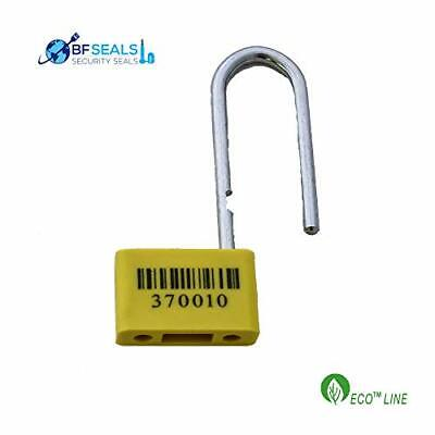 Plastic One-time-use Heavy Duty Padlock Hd Security Seal 40 Pcs. Metal Wire