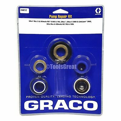 Graco Ultra Ultimate Mx Ii 695 795 Sprayer Pump Packing Repair Kit 248212
