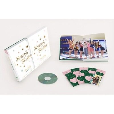 Twice[Merry&Happy Monograph]Limited Edition DVD+150p PhotoBook+9p PhotoCard+Gift