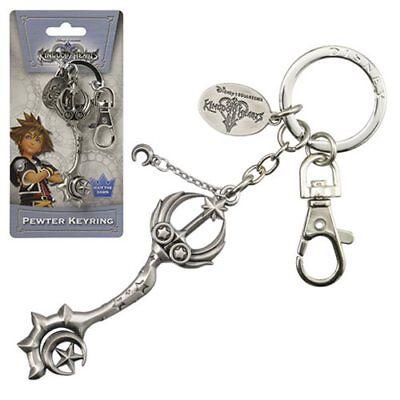 - Disney NEW * Star Seeker Key Chain * Kingdom Hearts Pewter Metal Keychain Clip
