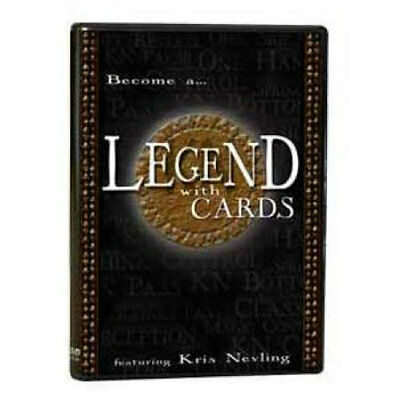 Legend With Cards - Magic Tricks DVD - New