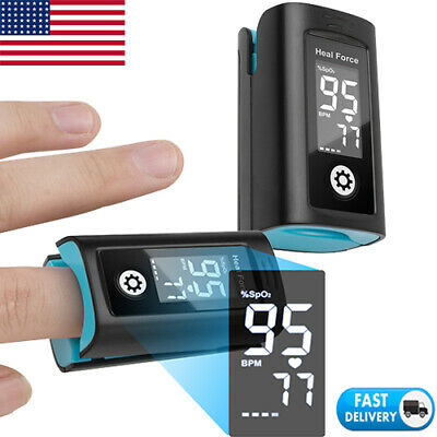 Fingertip Pulse Oximeter Oxymeter Blood Oxygen Saturation Monitor Spo2 Pr Fda Ce