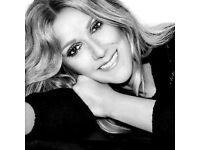 2 x Celine Dion Concert Tickets, London O2 Sat 29 July 17 - £135 each (face value £160 each)
