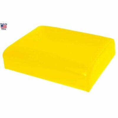 Seat Cushion Wood Backed Vinyl Yellow John Deere 430 G 420 330 40 320 1010 440