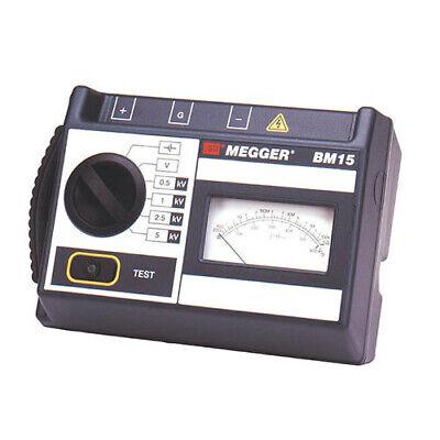 Megger Bm15 6410-919 Analog 5 Kv Insulation Tester Battery-powered