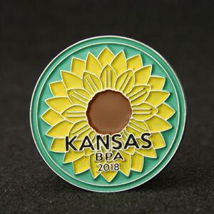 Kansas Lapel Pins
