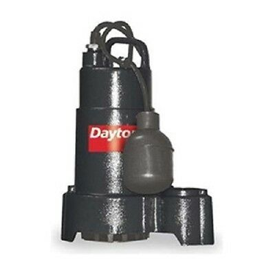 New Dayton - 12 Hp 115 V Sump Pump 1-12 Npt 10 Cord With Switch- 3bb69