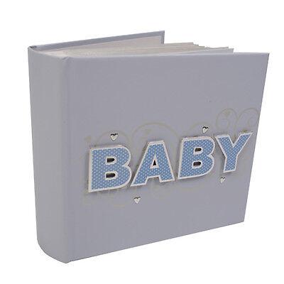 Baby Boy 3D 6 x 4 Blue Photo Album Holds 100 TP152B