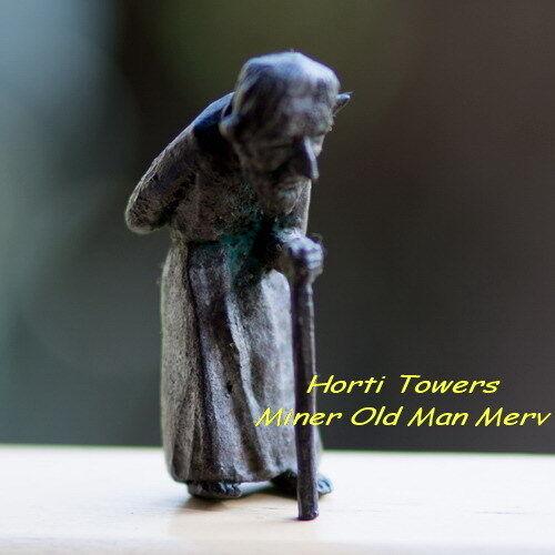 "MERV (Maker of ""The Iron Fairies"" in New Bag Packaging - (Grumpy Old Man, Miner)"