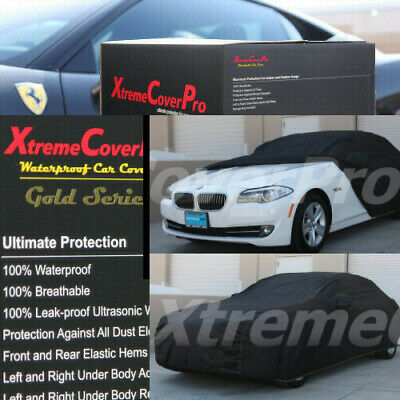 2008 2009 2010 BMW 528I 535I 550I WATERPROOF CAR COVER W/MIRRORPOCKET BLACK