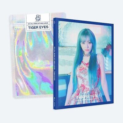 RYU SU JEONG LOVELYZ Tiger Eyes 1st Mini Album CD + PHOTOCARD + FOLDED POSTER