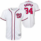 Bryce Harper White MLB Jerseys