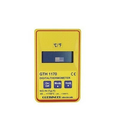 Greisinger GTH 1170 Digital-Sekunden-Thermometer Temperatur Messgerät -50/+1150° online kaufen