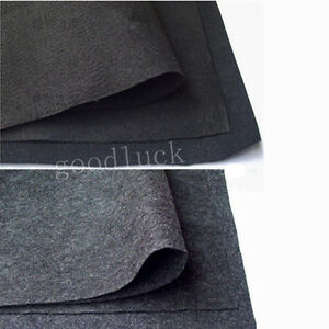 2m x 1m car cover van speaker subwoofer box carpet cloth black gray ebay. Black Bedroom Furniture Sets. Home Design Ideas