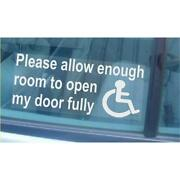 Disabled Car Sticker