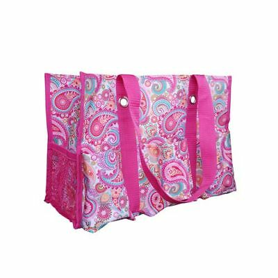 Gift Bag Organizer (Thirty One Organizing Utility Tote Shoulder Bag Beach 31 Gifts Pink)