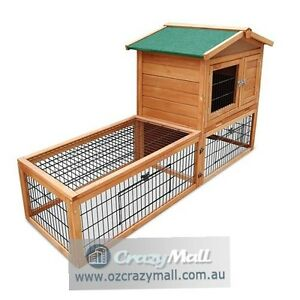2 Storey Wooden Rabbit Hutch with Built-in Ramp Sydney City Inner Sydney Preview