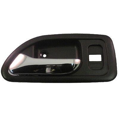 Inside Door Handle - Front Left Driver Side Interior -  Black