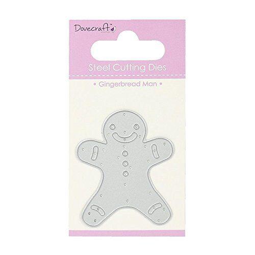 "Dovecraft ""Gingerbread Man"" Die, Metal, Grey"