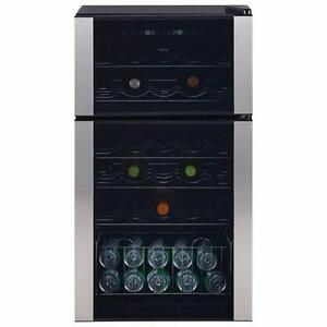 GE PXR03FLSFSC Wine Cooler - Stainless Steel (Open Box) -- Dent on the real top