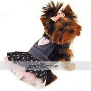 Denim Dog Dress
