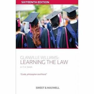 Glanville-Williams-Learning-the-Law-by-A-T-H-Smith-Paperback-2016