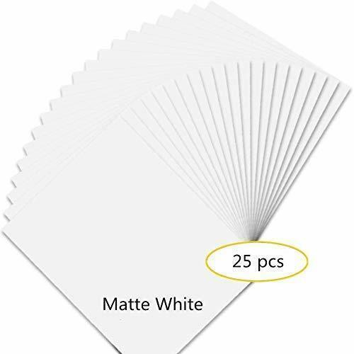 Ink Jet Printable Vinyl Sticker Waterproof Decal Paper Sheet
