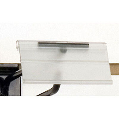 Count Of 100 New Retails Scan Hook Label Holder-1-14h X 2-12w