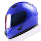 Unisex Youth Size M Blue Motorcycle Helmets