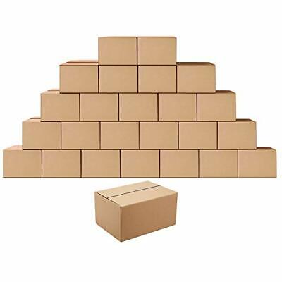 Shipping Boxes Mailers 8x6x4 Inches Corrugated Cardboard Small Packing Kraft ...