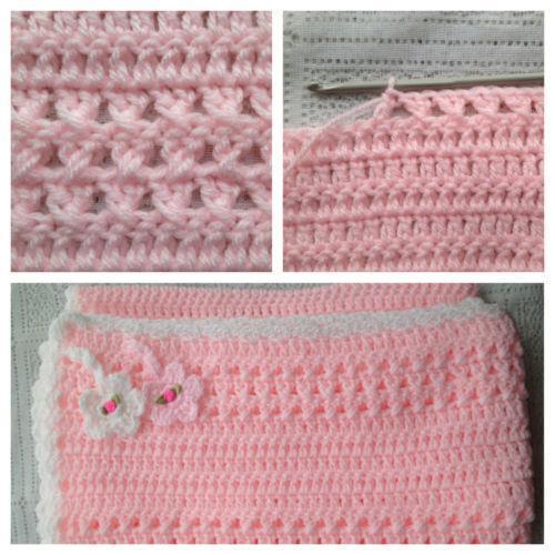 Crochet Pram Blanket Pattern Ebay