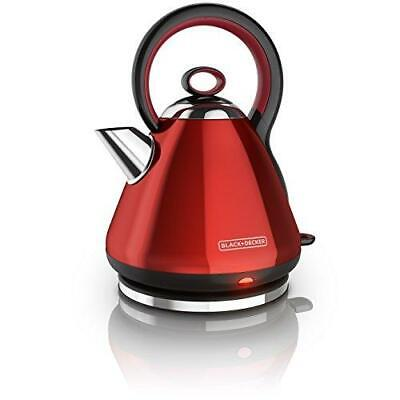 BLACK+DECKER™ Electric Kettle - Red