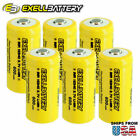 Battery 16340 Battery Rechargeable Batteries Exell Battery