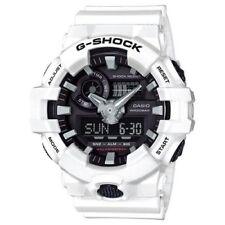 Casio G-Shock White Analogue/Digital Mens Watch GA700-7A GA-700-7ADR