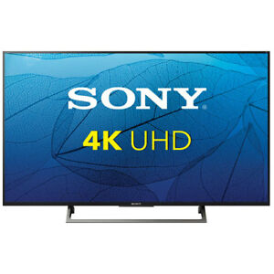 """Like New XBR49X800E Sony 49"""" 4K UHD LED HDR Android Smart TV"""