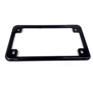 motorcycle license plate frame black - Motorcycle Plate Frame
