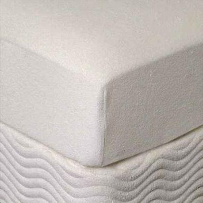 """Zippered Mattress Cover for Queen 3"""" Memory Foam Topper"""